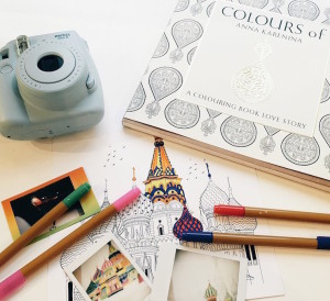 Getting Ready for National Colouring Day with Indigo