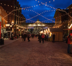 A great way to enjoy Christmas Time in Toronto is the Toronto Christmas Market