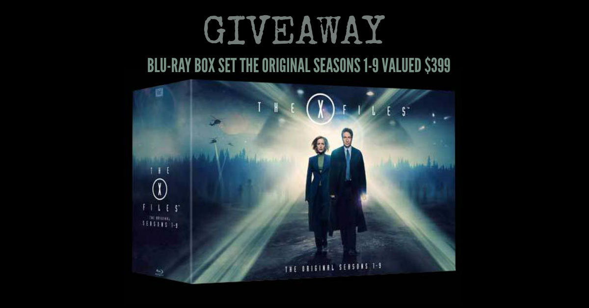 X-Files Collectibles: The X-Files Collector's Set DVD Giveaway