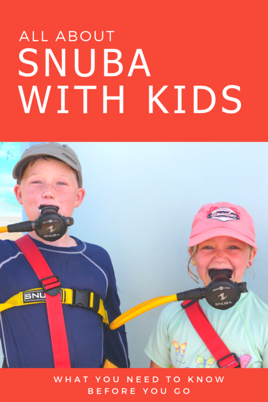Looking for an ocean adventure with kids? Here's why SNUBA is the perfect fit.