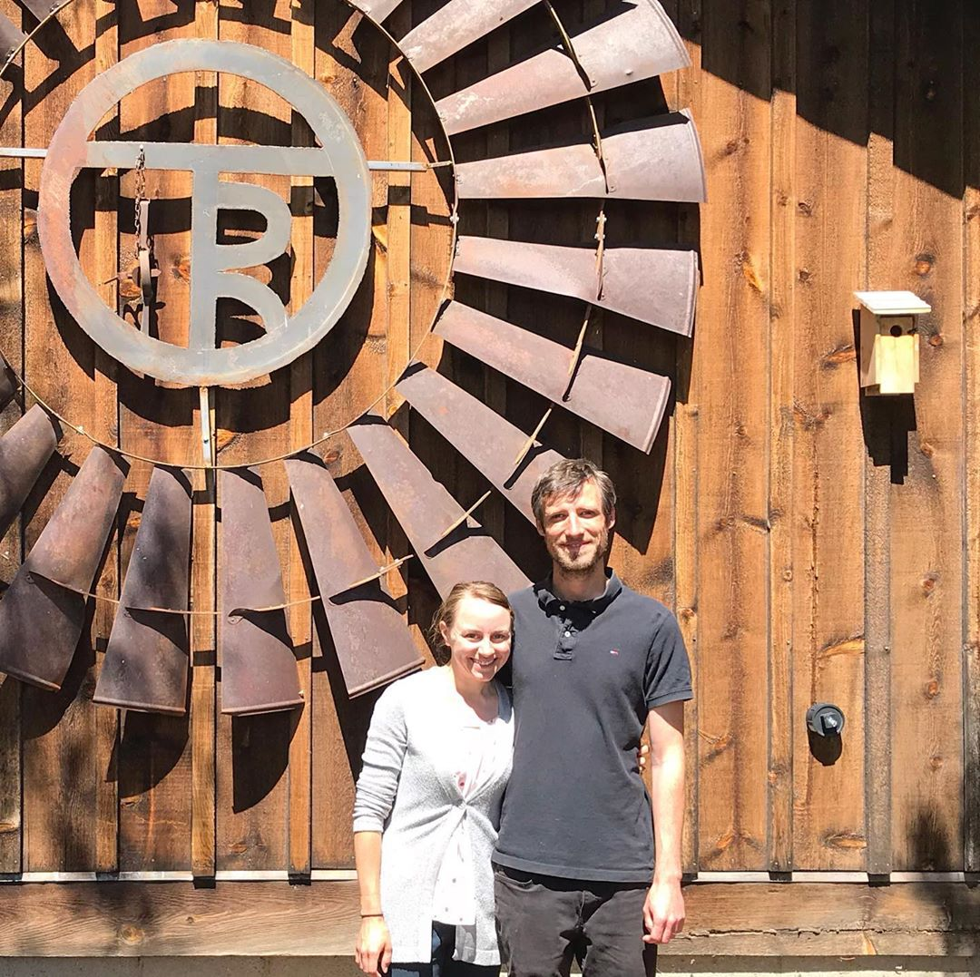 cabin inn keepers Emily and Matthieu