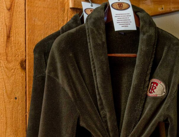 complimentary brown robes