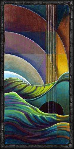 """Chromatic Water Theory III: Strum"""