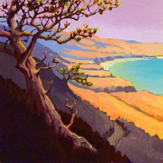 """Torrey Pine Sentinel"" | Miles Hiked: 6.1"