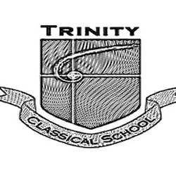 Trinity Classical School logo Black/White