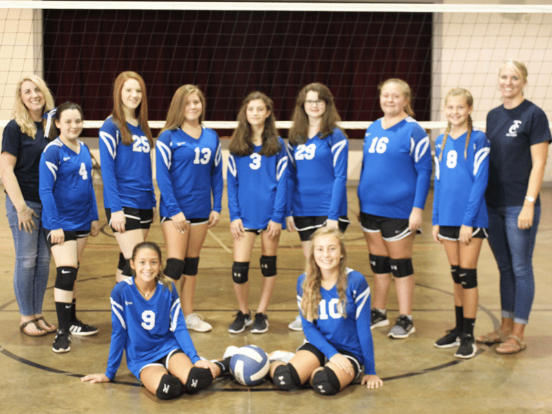 trinity classical volleyball team middle school