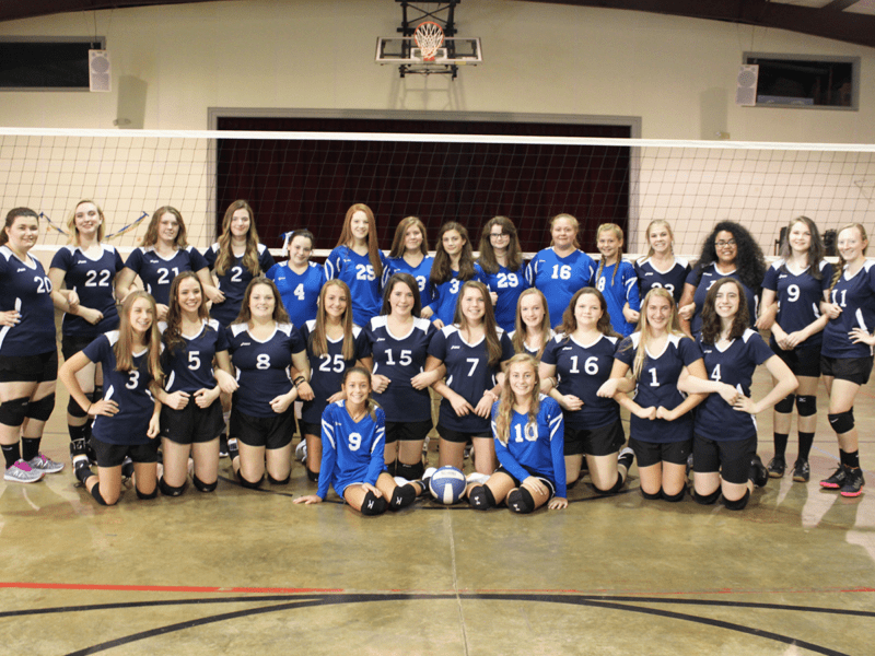 Trinity Classical volleyball team 2019-2020