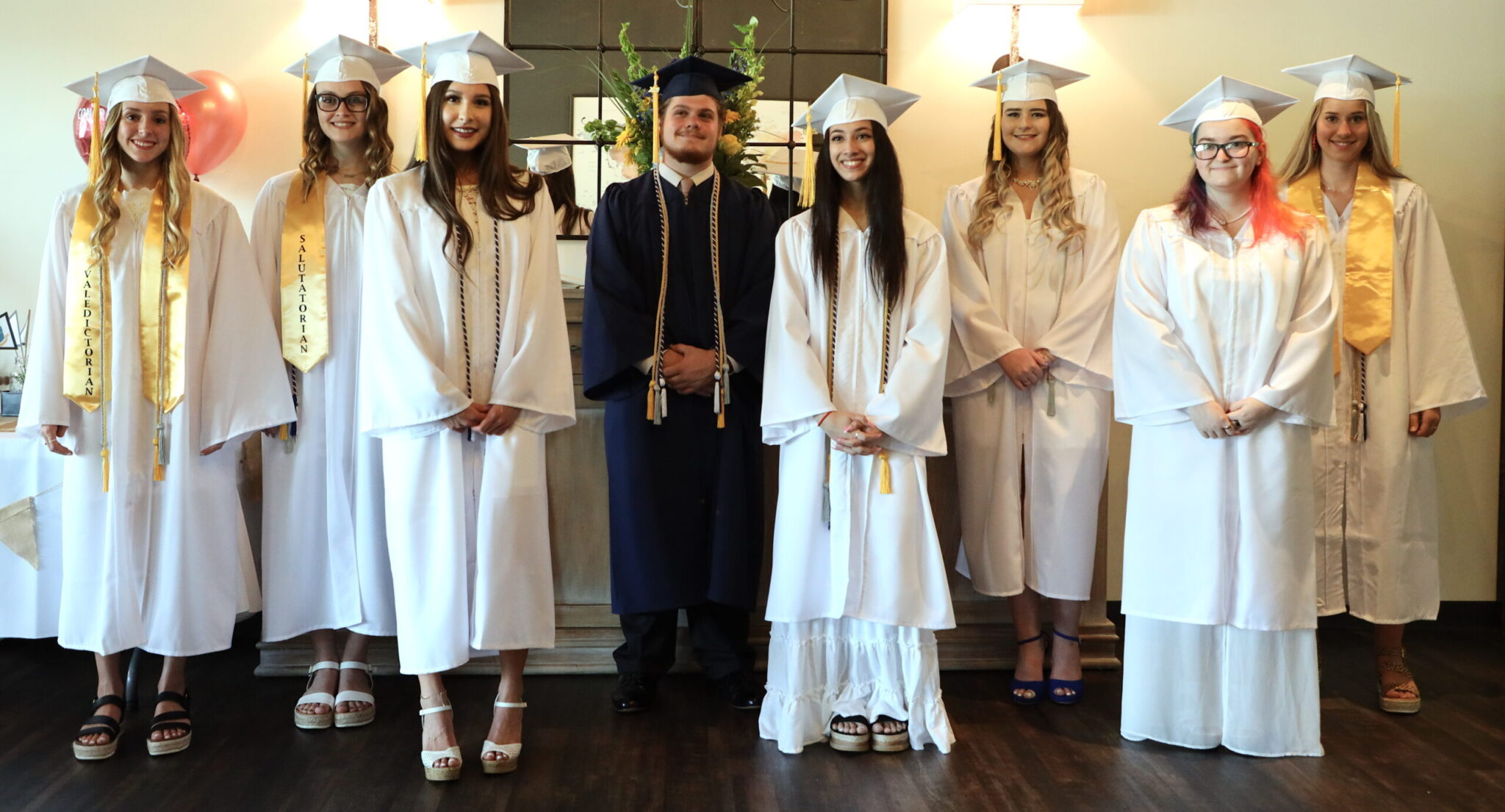 Trinity Classical School 2020 Graduates cap and gown