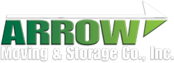 arrow moving & storage white