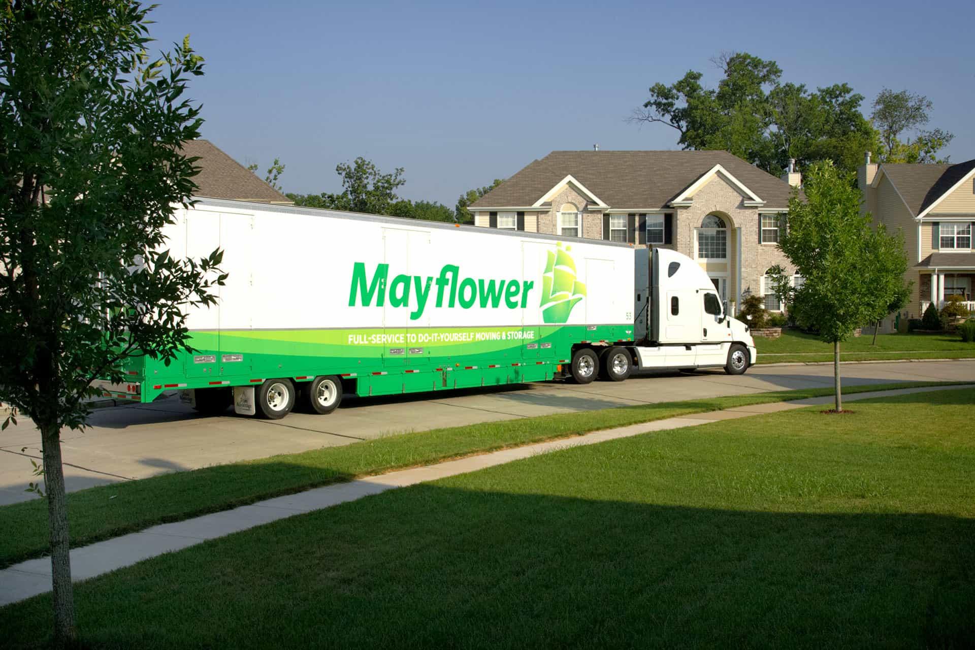 maflower truck near home