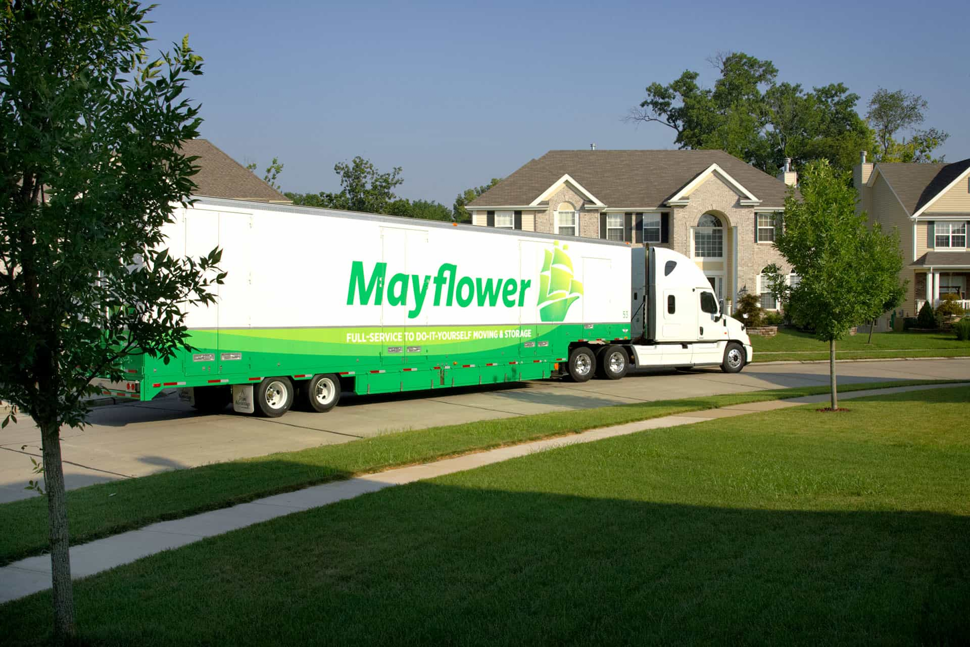 maflower truck near home