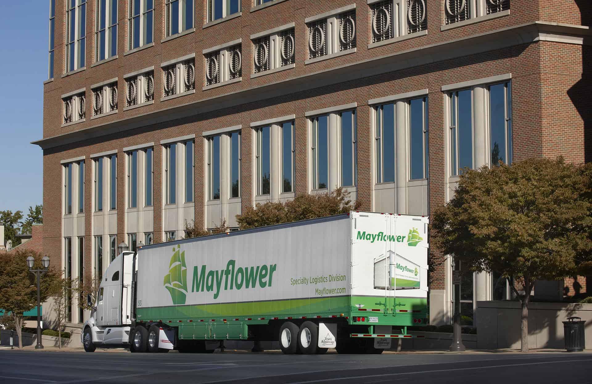 mayflower office relocation truck
