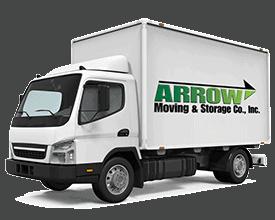 arrow moving truck