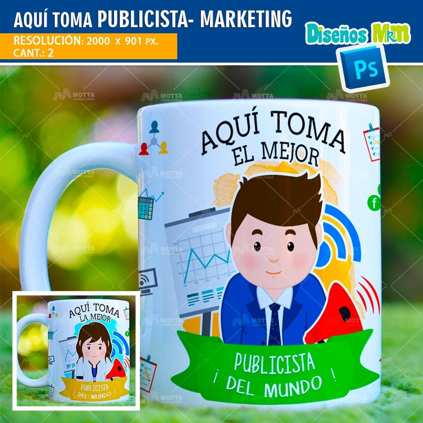AQUÍ TOMA PUBLICISTA-MARKETING