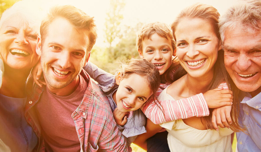 American rescue plan and family finances happy family