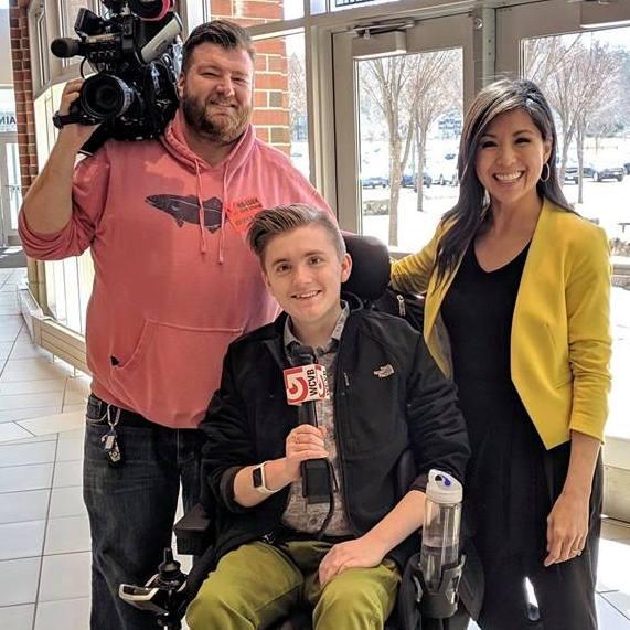 Jake Marrazzo Chosen as WCVB Channel 5 Boston A+ Student
