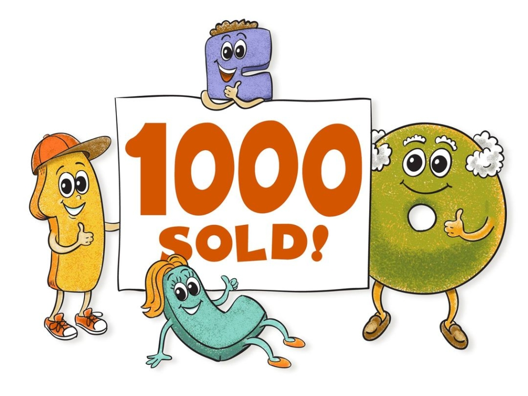 One Wants to be a Letter 1000 Books Sold