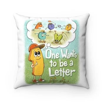 Pillow One Wants to be a Letter
