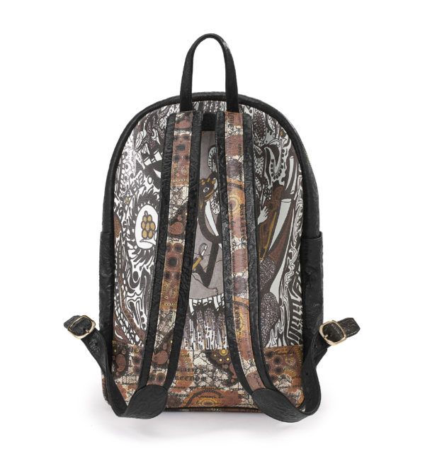 Ganesh-Fingerprint of Soul Tan Leather sport BPack