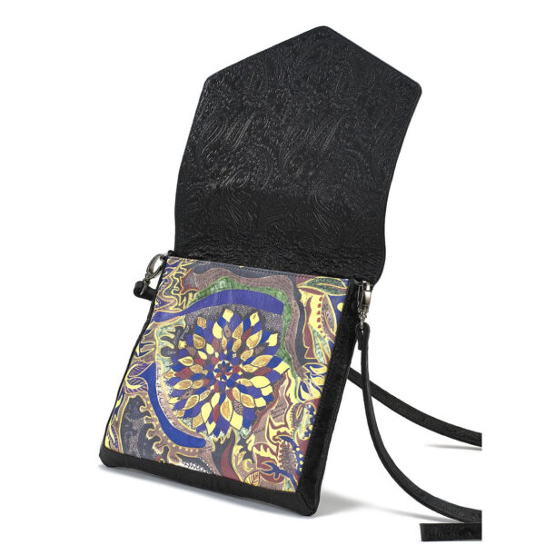crossbody blk Lotus 2