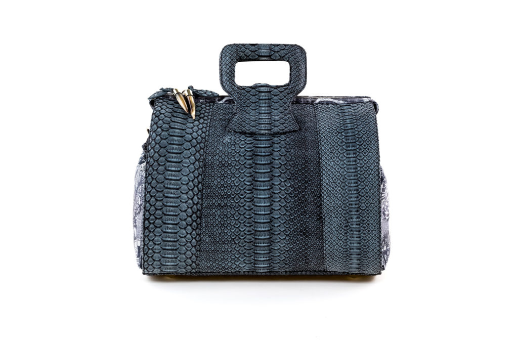 Solutions Exotic Charcoal Gray Python