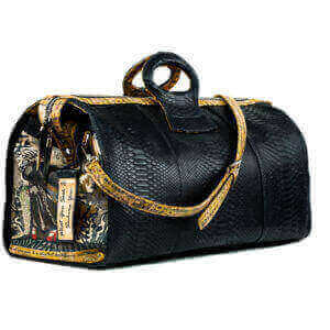 LADY TERESA BLACK DUFFEL