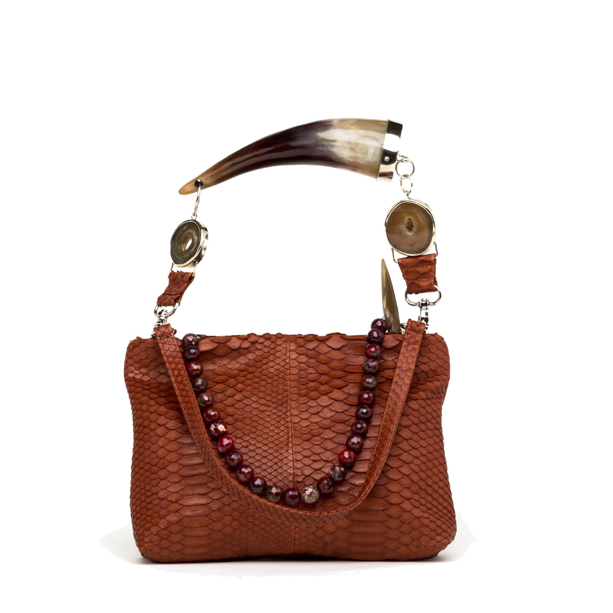 mid-size-cognac-horn-handle-python-clutch