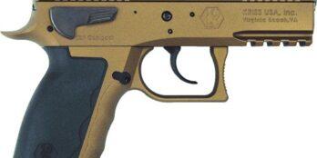 Kriss Sphinx – SDP Compact ALPHA 9mm Pistol   Burnt Bronze   15rd (S4WWSXXE022)