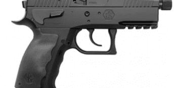 Kriss Sphinx – SDP Compact Duty 9mm Pistol – Black   17rd   Threaded Barrel