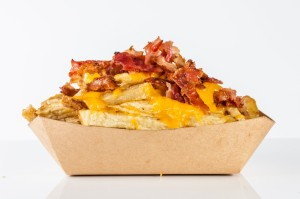 Cheese Fries plus Bacon   Bacon cheese Fries-min