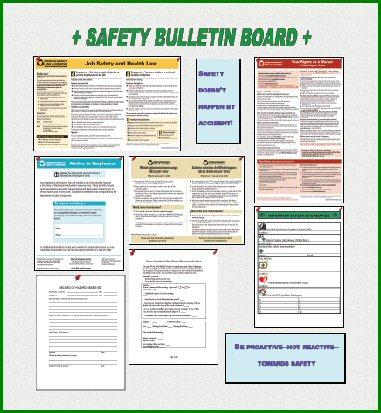 Safety Bulletin Board