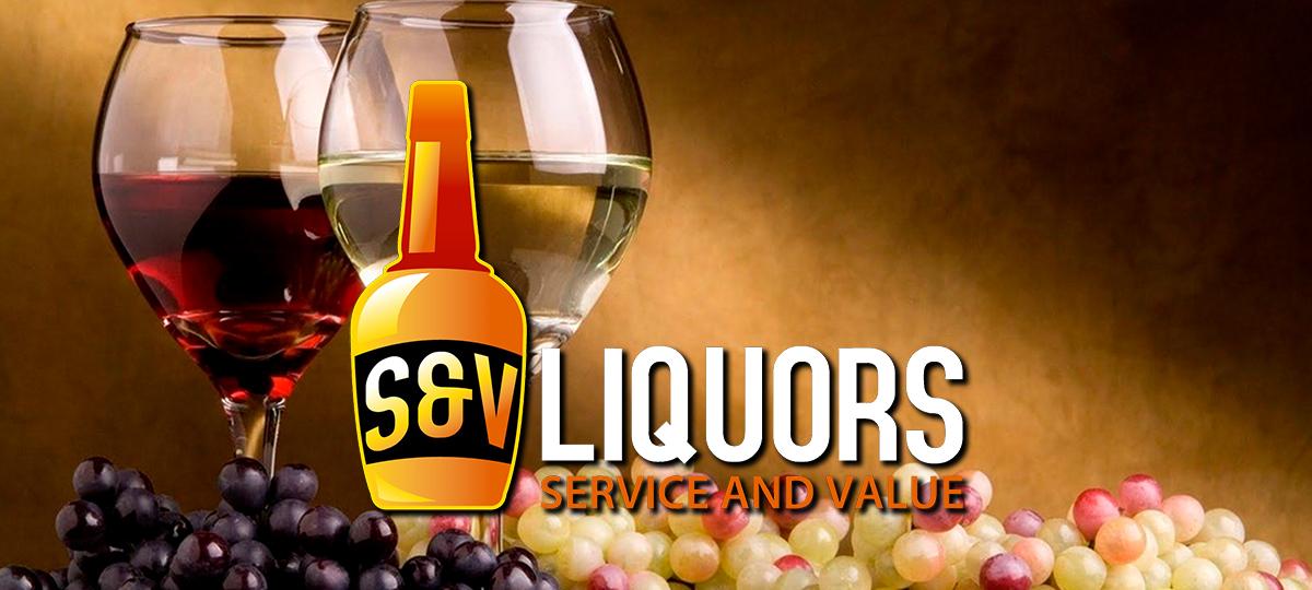 S&V Liquors Events Page Header