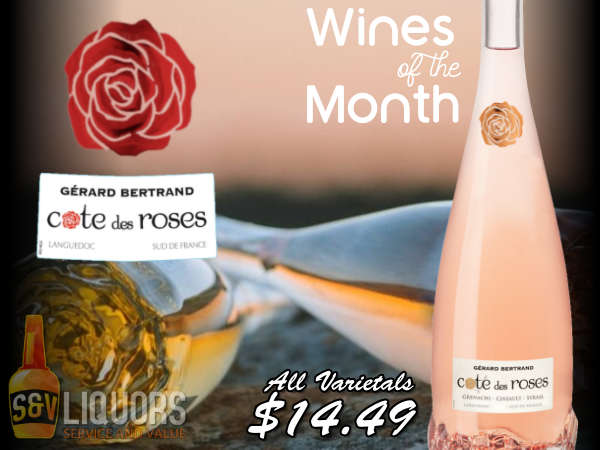 Cote des Roses Winery - June's Featured Wines at S&V Liquors
