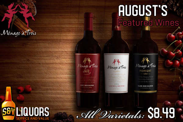 2020-08 August - Menage a Trois - Winery of the Month