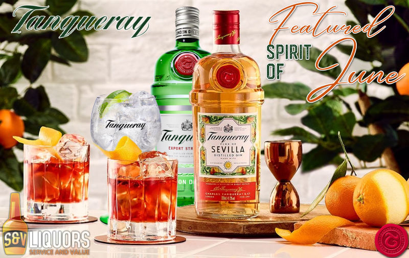 Fort Wayne's Featured Spirit of the Month at S&V Liquors! June 2021 Spirits Feature is Tanqueray Gin! On sale at all S&V Liquors stores across Fort Wayne, New Haven, Churubusco, Garrett, and Woodburn!
