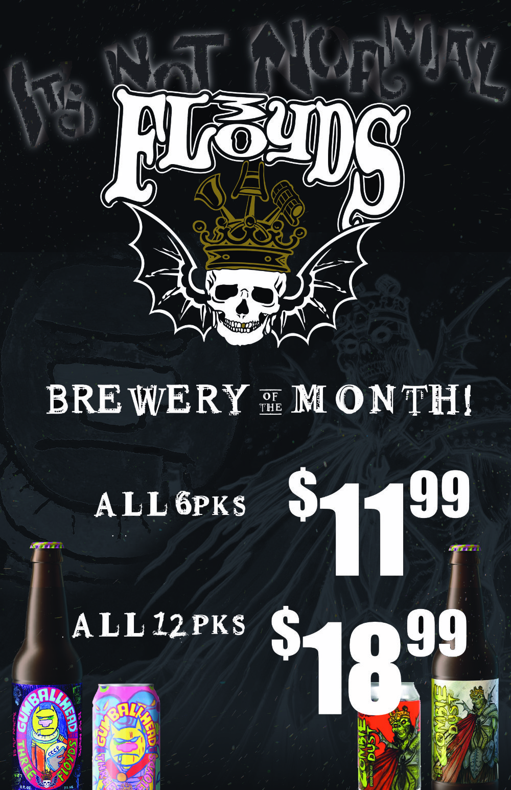 Fort Wayne's Featured Brewery of the Month - October 2021 features Three Floyd's Brewing Company! On Sale at all S&V Liquors stores across Fort Wayne, New Haven, Churubusco, Garrett, and Woodburn!