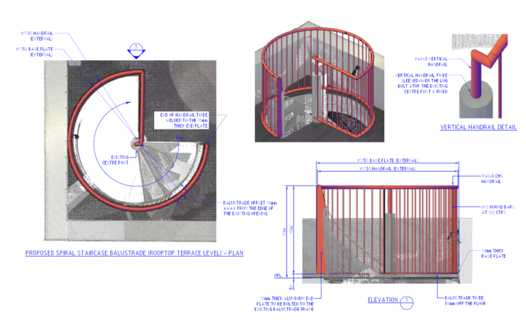 Spiral Balustrade - 1