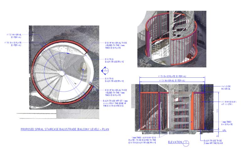 Spiral Balustrade - 2