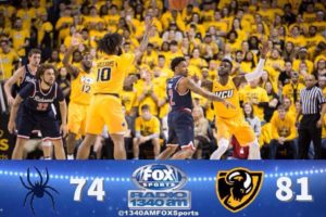 50 Point Second Half Secures Win for VCU