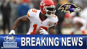 Ravens Sign Jeremy Maclin, Could Still Sign Eric Decker