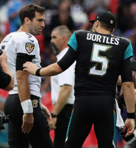 Flacco Defends His Offense