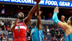 Wizards clinch playoff seed in John Wall's return against Charlotte Hornets