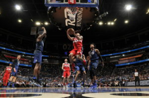 Washington Wizards fall in reverse into the playoffs, losing season finale to Orlando