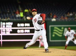 Nationals snap five-game losing streak with a Max Scherzer complete game