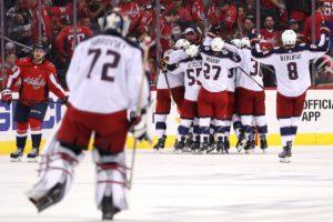 Lack of discipline haunts Capitals; Columbus takes 2-0 series lead