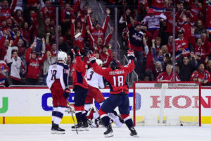 Fans at Capital One Arena rejoice as Caps win in OT again