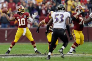 Baltimore Ravens sign quarterback Robert Griffin III