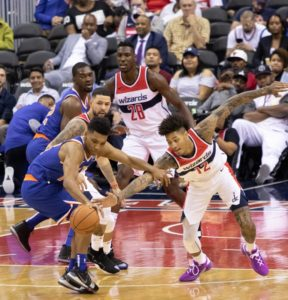 Overtime loss for Wizards in preseason opener against Knicks