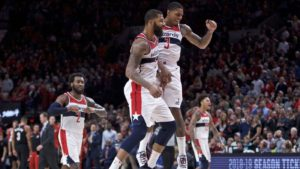 Wizards win first game of season in OT thriller against Blazers