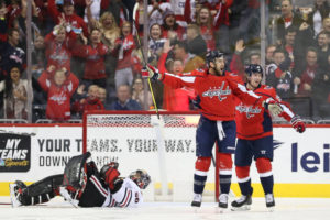 Wilson's Home Debut Sparks Capitals' 3rd Straight Win